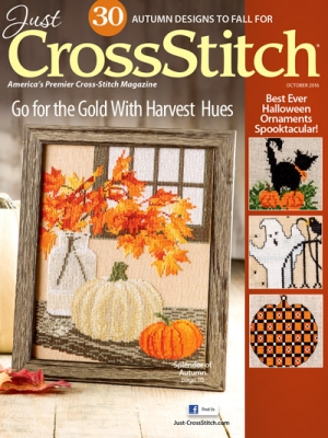 click here to view larger image of Just Cross Stitch - September/October 2016 (magazines)