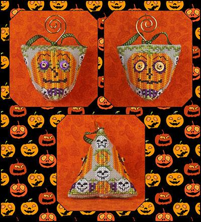 click here to view larger image of Wide Eyed Jacks Humbug (includes embellishments) (chart with charms/buttons)