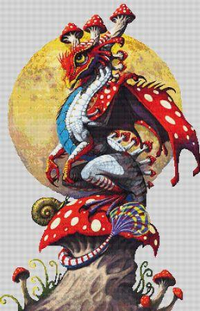 click here to view larger image of Mushroom Dragon (chart)