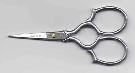 click here to view larger image of Premax 3.5in Delicate Embroidery Scissors - Matte Chrome (accessory)