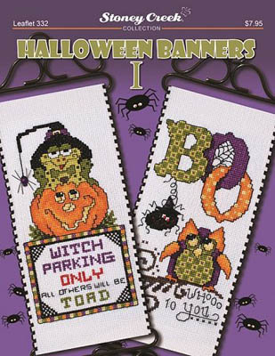 click here to view larger image of Halloween Banners I (chart)