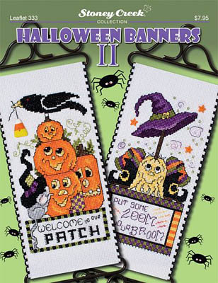 click here to view larger image of Halloween Banners II (chart)