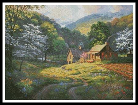 click here to view larger image of Country Blessings  (Mark Keathley) (chart)
