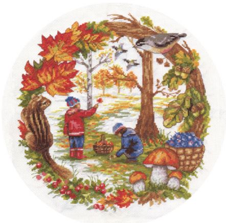click here to view larger image of D-1390 (counted cross stitch kit)