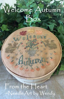 click here to view larger image of Welcome Autumn Box (chart)