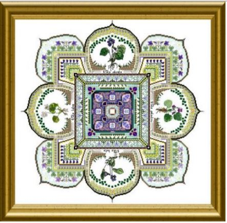 click here to view larger image of Violet Patch Mandala, The (chart)