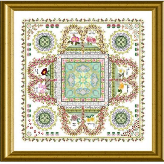 click here to view larger image of Rosarium Mandala, The  (chart)
