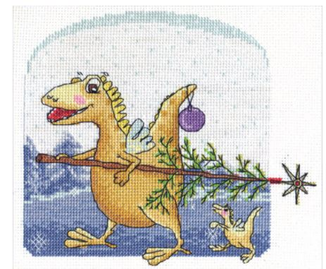 click here to view larger image of VK-1258 (counted cross stitch kit)