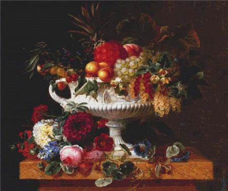 click here to view larger image of Classical Urn With Gooseberries, A (chart)