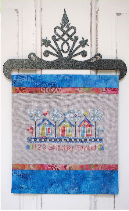 click here to view larger image of 123 Stitcher Street (chart with charms/buttons)