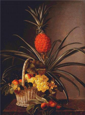 click here to view larger image of Still Life With Fruits and Pineapple (chart)