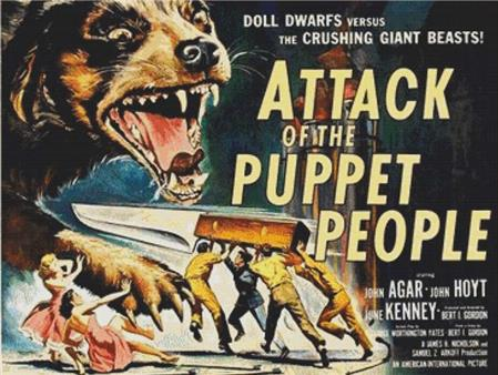 click here to view larger image of Attack Of The Puppet People (chart)