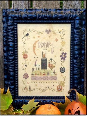 click here to view larger image of Frightful Be (counted cross stitch kit)