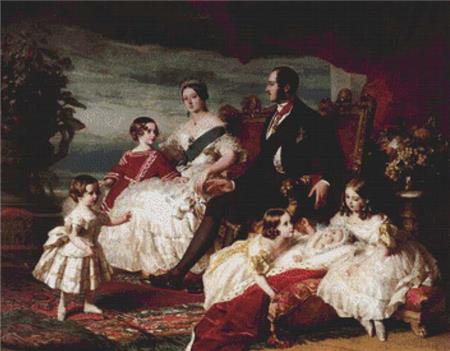 click here to view larger image of Royal Family in 1846, The  (Franz Xaver Winterhalter) (chart)