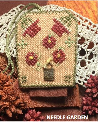 click here to view larger image of Needle Garden (counted cross stitch kit)