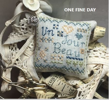 click here to view larger image of One Fine Day (counted cross stitch kit)