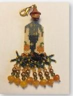 click here to view larger image of Scared Crow Fob (bead kit)