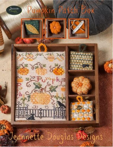 click here to view larger image of Pumpkin Patch Box (chart)