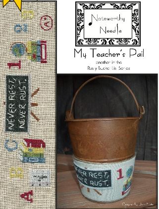 click here to view larger image of My Teachers Pail - Rusty Bucket Series (chart)