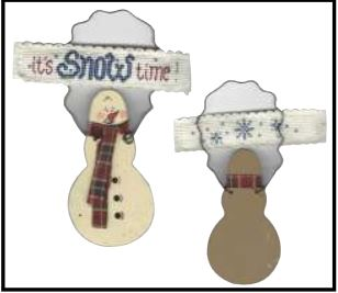 click here to view larger image of Its Snow Time! (counted cross stitch kit)