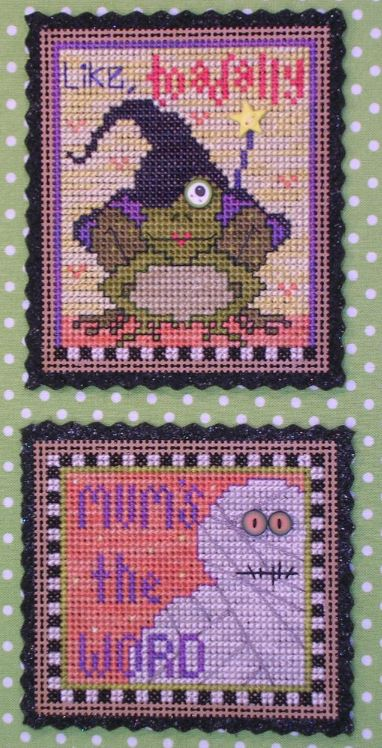 click here to view larger image of Double Whammy (counted cross stitch kit)