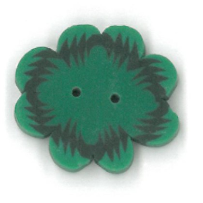click here to view larger image of Large Four Leaf Clover Button (buttons)