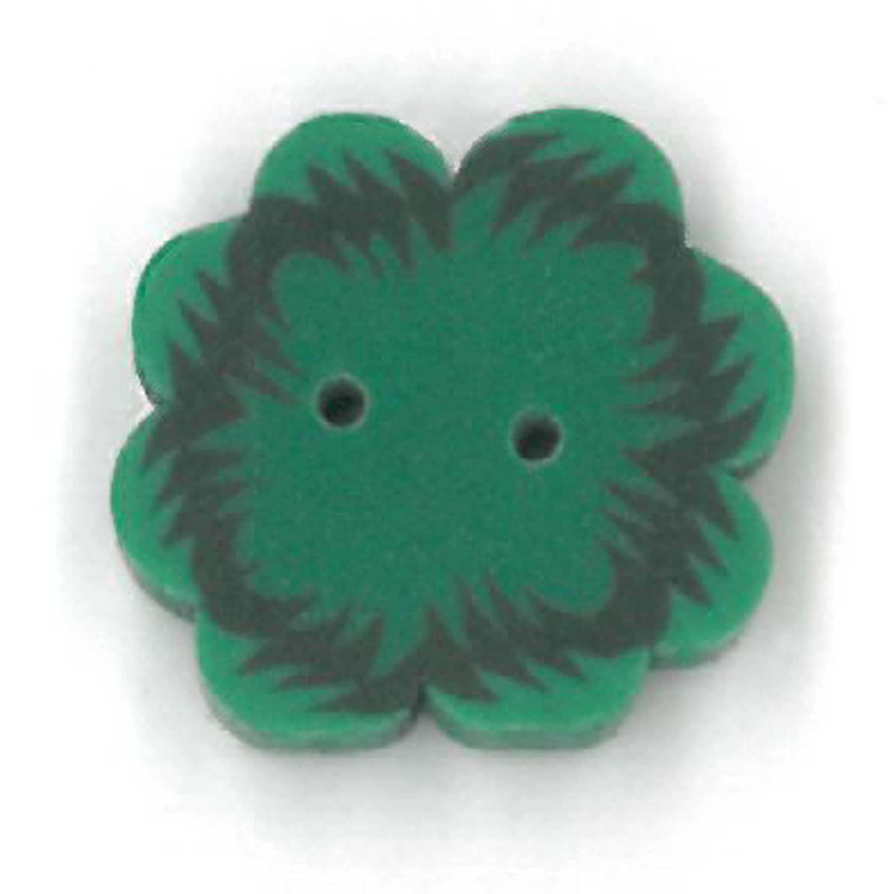 click here to view larger image of Small Four Leaf Clover Button (buttons)