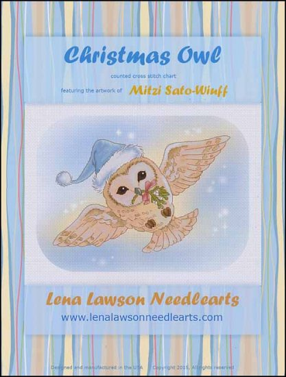 click here to view larger image of Christmas Owl (chart)