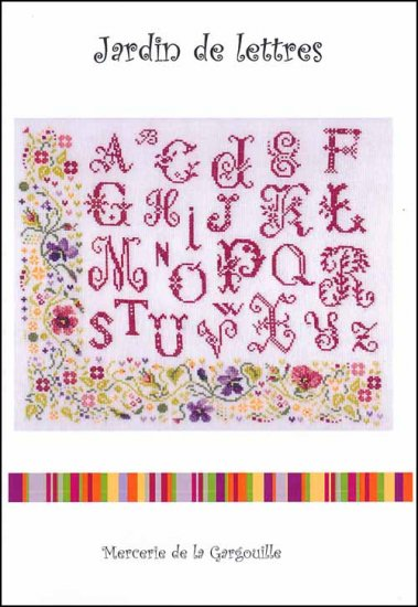 click here to view larger image of Jardin De Letters (chart)