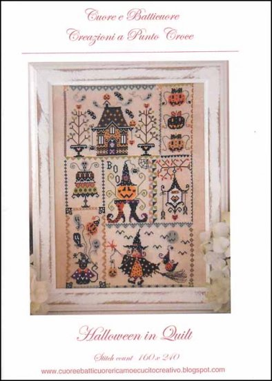 click here to view larger image of Halloween In Quilt (chart)