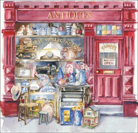 click here to view larger image of Antique Shop (chart)