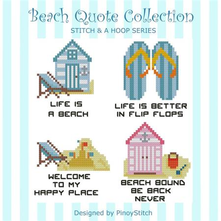 click here to view larger image of Beach Quotes Collection (chart)