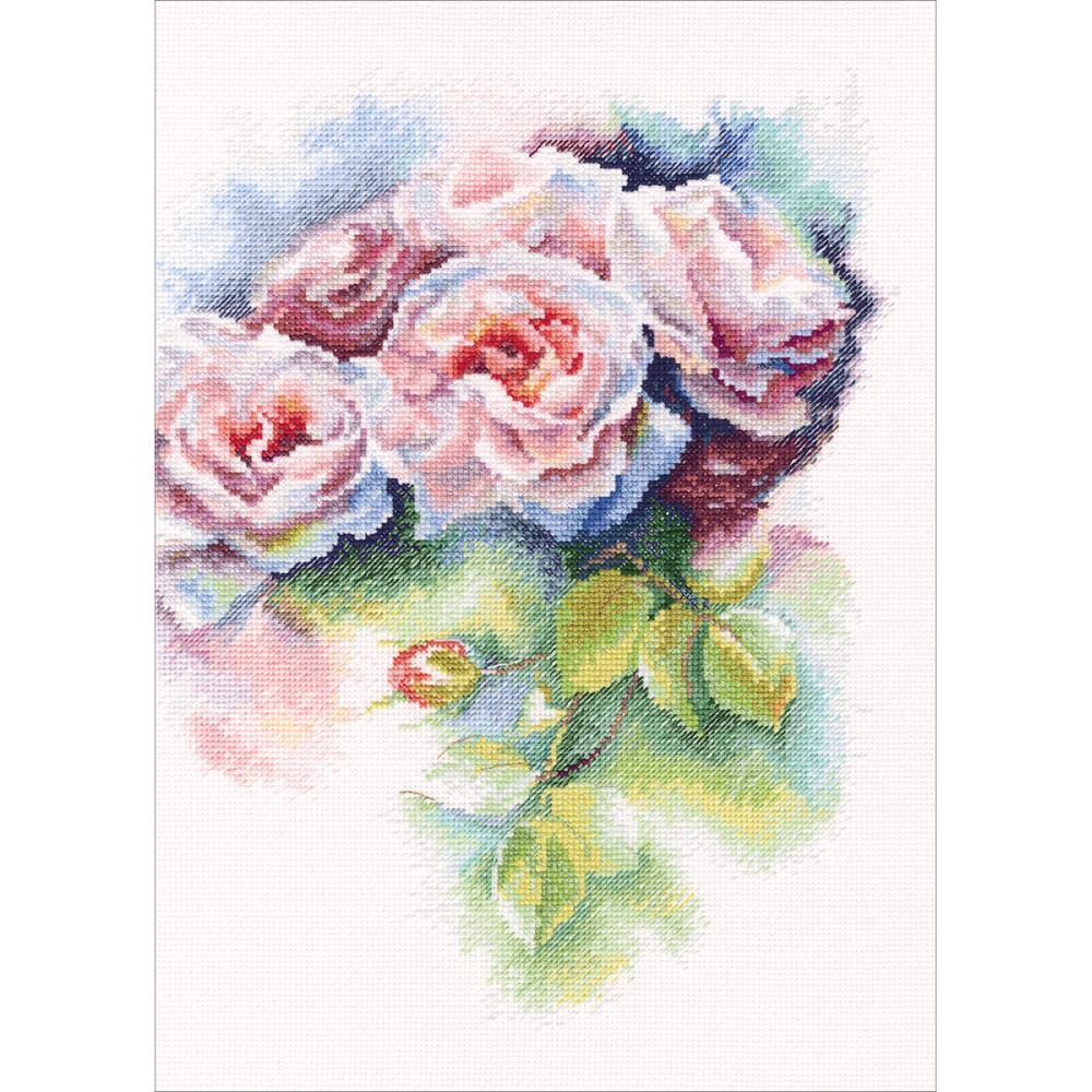 click here to view larger image of Pink Bliss (counted cross stitch kit)