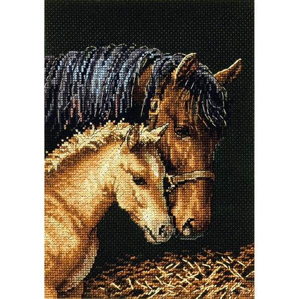 click here to view larger image of Gentle Touch (counted cross stitch kit)