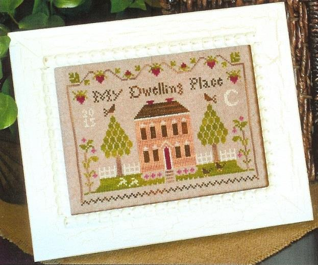 click here to view larger image of Dwelling Place Sampler (chart)