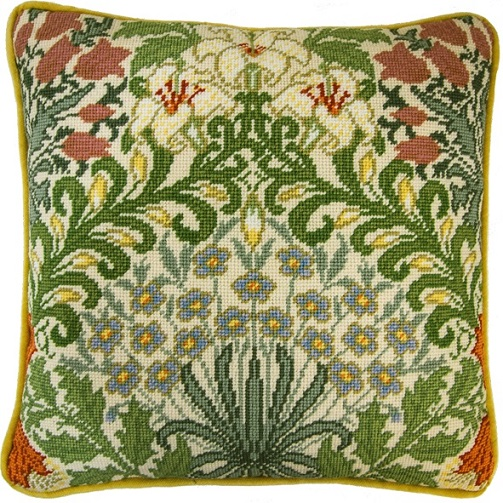 click here to view larger image of William Morris - Garden (needlepoint)