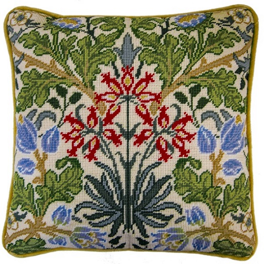 click here to view larger image of William Morris - Hyacinth (needlepoint)