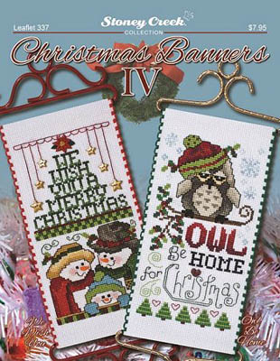click here to view larger image of Christmas Banners IV (chart)