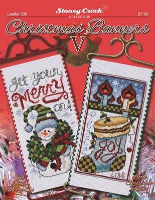 click here to view larger image of Christmas Banners V (chart)