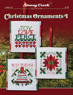 click here to view larger image of Christmas Ornaments I (chart)