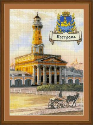 click here to view larger image of Kostroma - Cities Of Russia (stamped cross stitch kit)