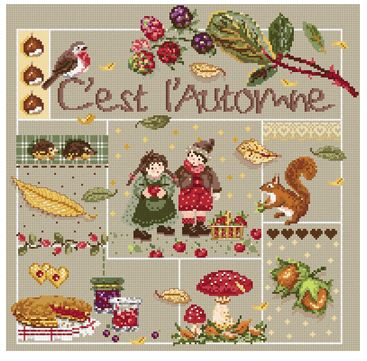 click here to view larger image of Cest L'Automne (chart)