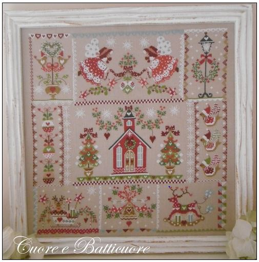 click here to view larger image of Christmas in Quilt (chart)