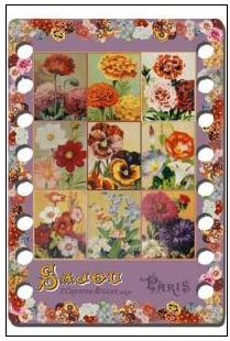 click here to view larger image of Flowers - Thread Organizer (accessory)