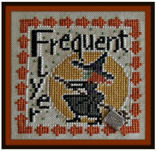 click here to view larger image of Word Play - Frequent Flyer (chart with charms/buttons)