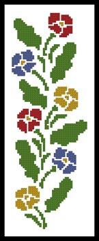 click here to view larger image of Primrose Border  (Joni Prittie) (chart)