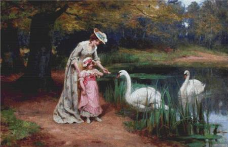 click here to view larger image of Feeding The Swans (chart)