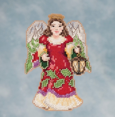 click here to view larger image of Angel With Lantern (counted cross stitch kit)