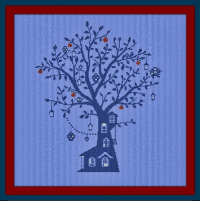 click here to view larger image of Albero dei Dolci Sogni (Tree Of Sweet Dreams) (chart)