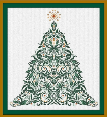 click here to view larger image of Christmas Tree 74 - CT74 (chart)